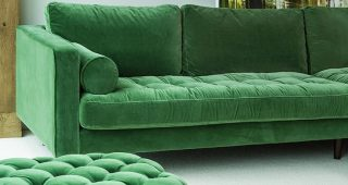 Green Sofa Chairs