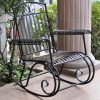 Wrought Iron Patio Rocking Chairs (Photo 13 of 15)