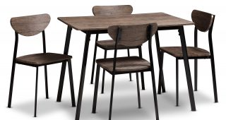 Tejeda 5 Piece Dining Sets