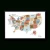 Usa Map Wall Art (Photo 10 of 15)