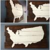 Usa Map Wall Art (Photo 8 of 15)
