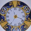 Italian Ceramic Wall Clock Decors (Photo 14 of 15)