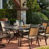 Valencia 72 Inch 7 Piece Dining Sets (Photo 18 of 25)