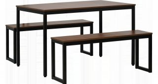 West Hill Family Table 3 Piece Dining Sets