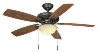 Hampton Bay Outdoor Ceiling Fans With Lights