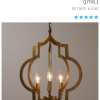 Reidar 4-Light Geometric Chandeliers (Photo 21 of 25)