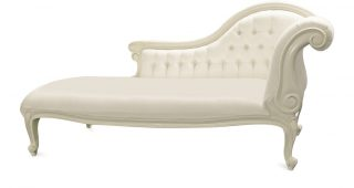 White Chaise Lounge Chairs