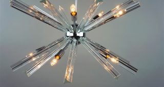 Chrome Sputnik Chandeliers