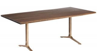Dining Tables In Smoked Seared Oak
