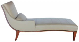 Modern Leather Chaise Longues