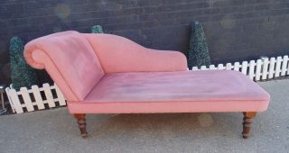 Pink Chaise Lounges