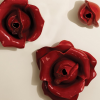 Red Rose Wall Art (Photo 5 of 15)