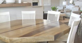 Rustic Country 8-Seating Casual Dining Tables