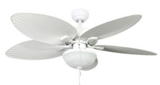 White Outdoor Ceiling Fans With Lights