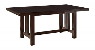 Wood Kitchen Dining Tables With Removable Center Leaf