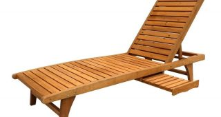 Wood Outdoor Chaise Lounges