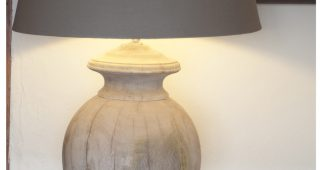 Wood Table Lamps For Living Room
