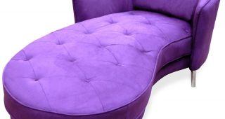 Purple Chaises
